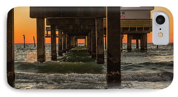 Under The Pier IPhone Case by Jane Luxton