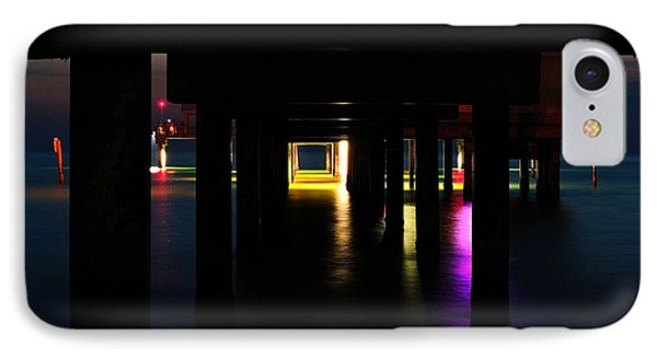 Under The Pier IPhone Case by Richard Zentner