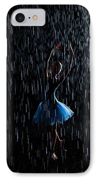 Under The Rain IPhone Case by Zina Zinchik