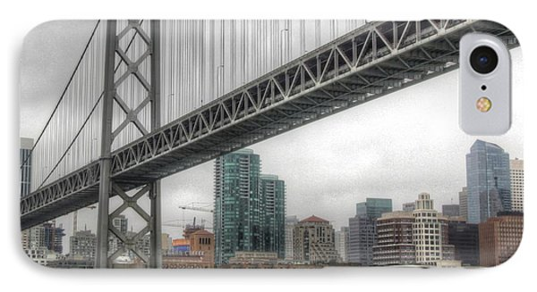 Under The San Francisco Bay Bridge IPhone Case