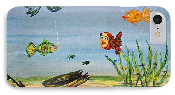 Under The Sea IPhone Case by Debbie Baker