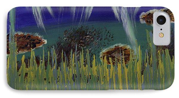 Under The Sea Phone Case by Donna Guzman