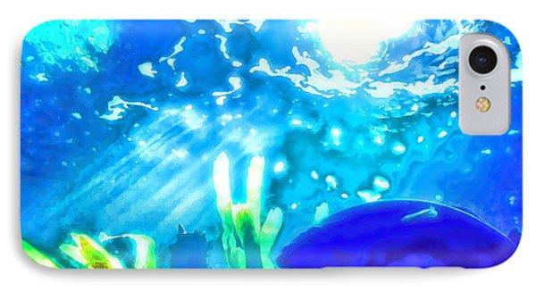 Under The Sea Illumination Phone Case by Tracie Kaska