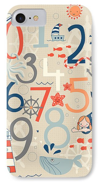 Under The Sea IPhone Case by Kathrin Legg