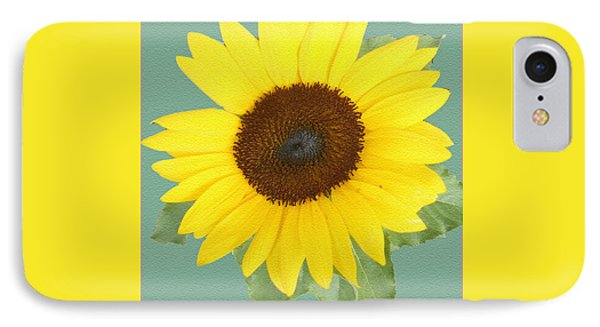 Under The Sunflower's Spell Phone Case by Patricia Keller