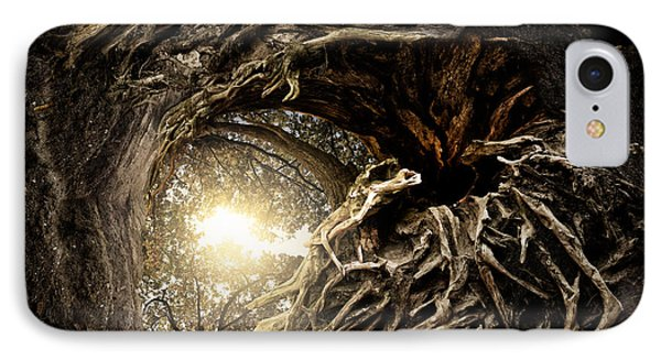Under The Trees #1 IPhone Case