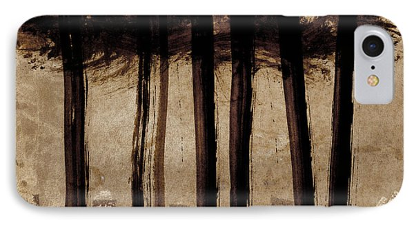 Under The Trees IPhone Case by Carol Leigh