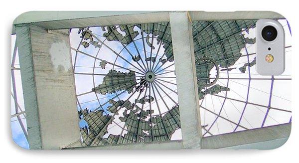 Under The Unisphere Phone Case by Ed Weidman