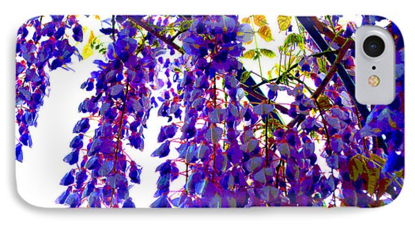 Under The Wisteria Phone Case by Alys Caviness-Gober