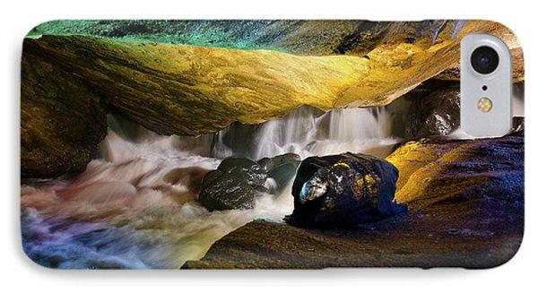 Underground Waterfall 2 Phone Case by Mark Papke