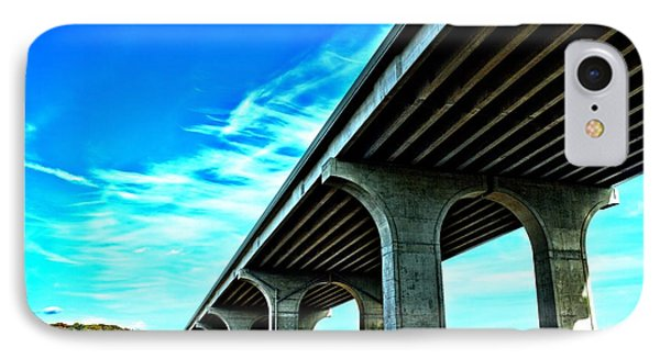IPhone Case featuring the photograph Underpass by Dennis Lundell