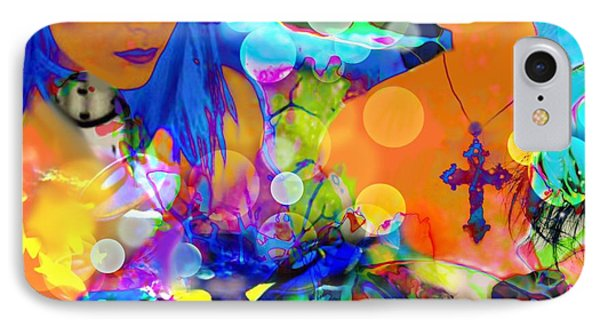 IPhone Case featuring the digital art Undersea Dreams by Diana Riukas