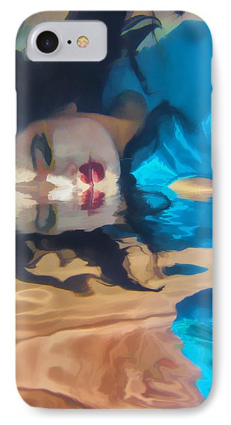 Underwater Geisha Abstract 1 Phone Case by Scott Campbell
