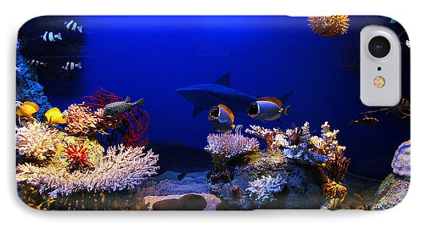 Underwater Scene Phone Case by Michal Bednarek