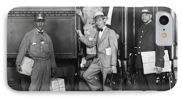 Underwood Photographer Aboard IPhone Case