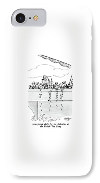 Unexpected Help For The Colonists At The Boston IPhone Case