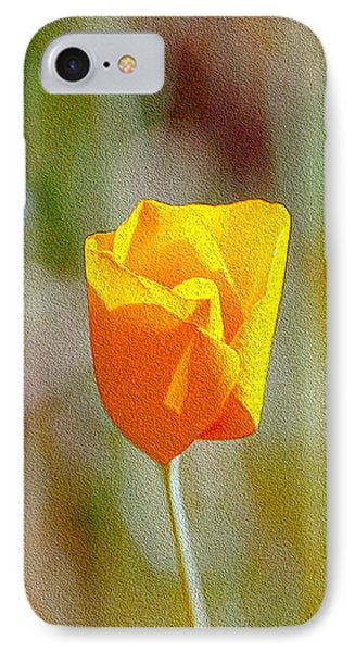 IPhone Case featuring the photograph Unfolding Poppy by William Havle