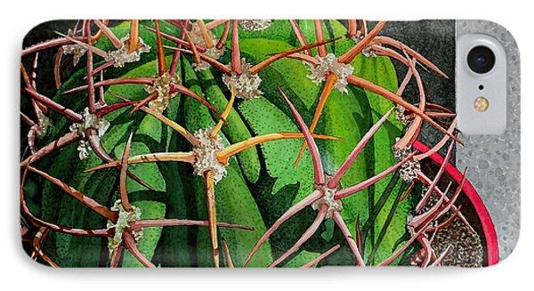 Unfriendly Succulent Plant IPhone Case