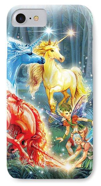 Unicorns And Fairies IPhone Case