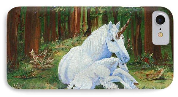 Unicorns Lap IPhone Case