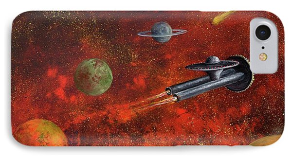 Unidentified Flying Object IPhone Case by Randy Burns