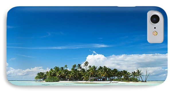 Uninhabited Island In The Pacific IPhone Case by IPics Photography