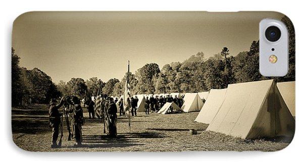 Union Army Camp - Civil War IPhone Case