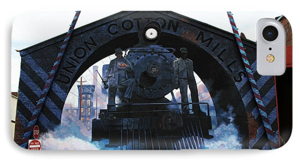 Union Cotton Mills IPhone Case by Blue Sky