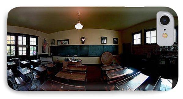 Union  Illinois One Room School House IPhone Case