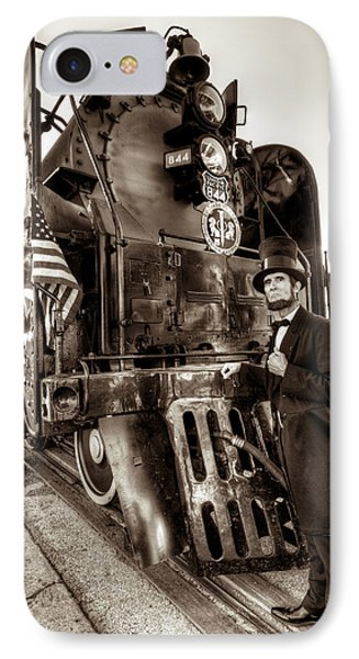 IPhone Case featuring the photograph Union Pacific 844 by Tim Stanley