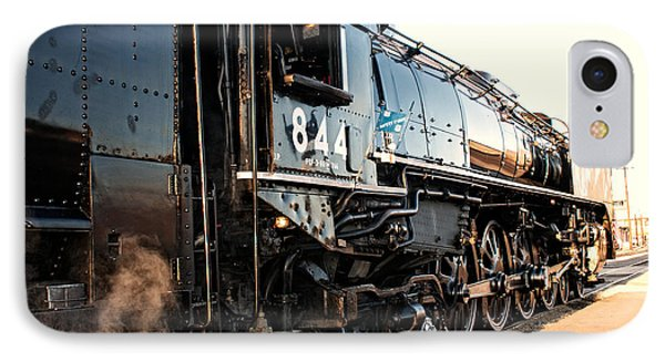 IPhone Case featuring the photograph Union Pacific Engine #844 by Vinnie Oakes