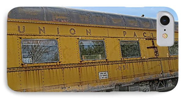 Union Pacific Phone Case by Peggy Hughes