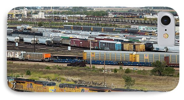 Union Pacific Railroad's Bailey Yard IPhone Case