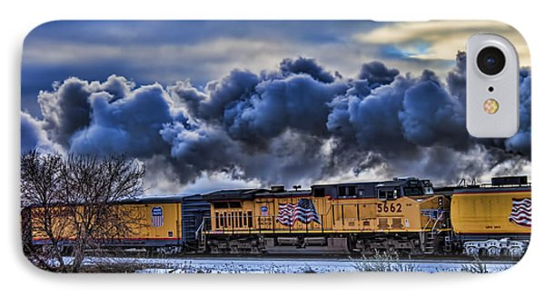 Union Pacific Train IPhone Case by Jeff Swanson