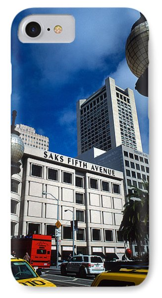 Union Square San Francisco IPhone Case by Kathy Yates