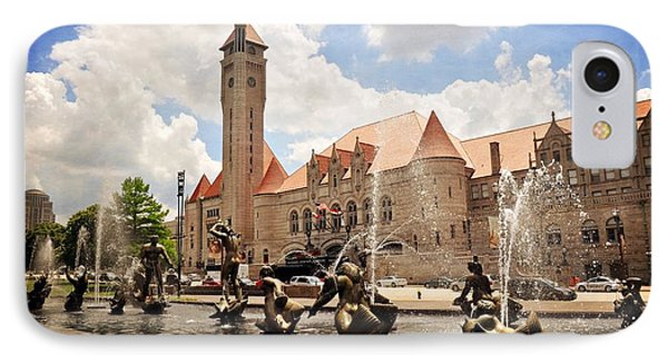Union Station 1 Phone Case by Marty Koch