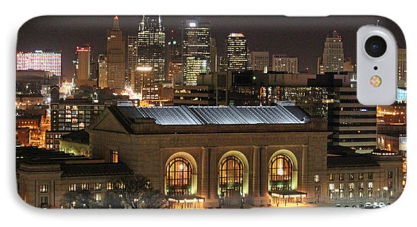 Union Station At Night IPhone Case by Lynn Sprowl