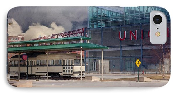 Union Station - Backside - Oil Painting Phone Case by Liane Wright
