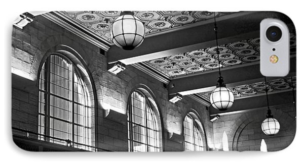 Union Station Balcony - New Haven IPhone Case by James Aiken