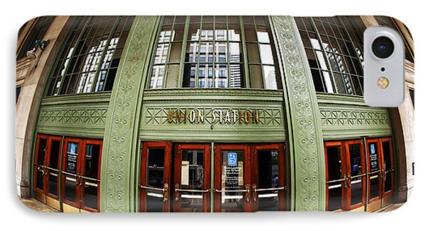 Union Station Exterior Phone Case by John Rizzuto