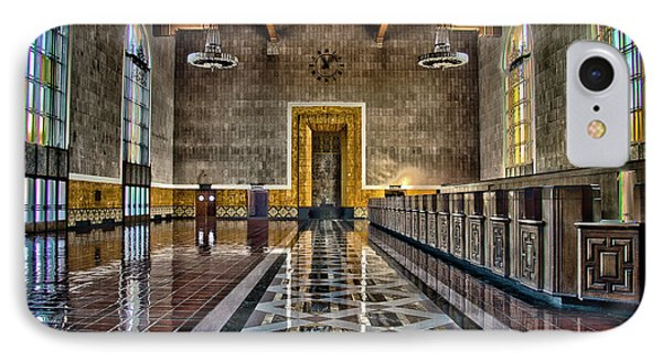 Union Station Interior- Los Angeles IPhone Case