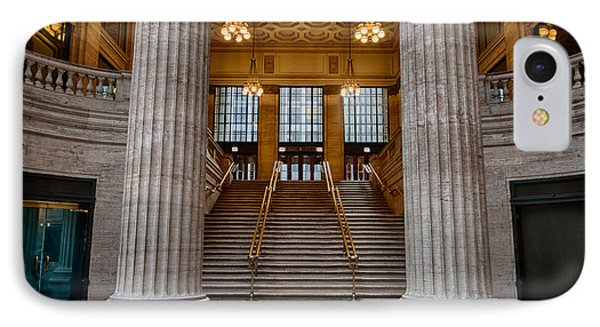 Union Station Stairs Phone Case by Mike Burgquist