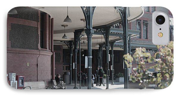 IPhone Case featuring the photograph Union Street Station by Patricia Babbitt