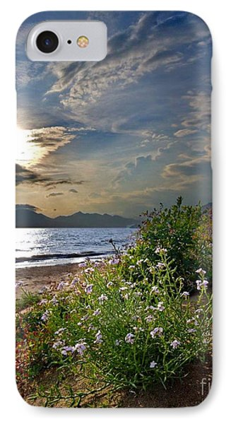 Unique Sunset Over Bay IPhone Case by Mikhail Savchenko