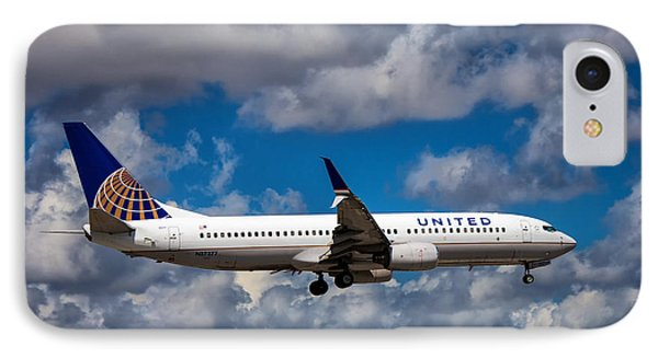 United Airlines Boeing 737 Ng IPhone Case
