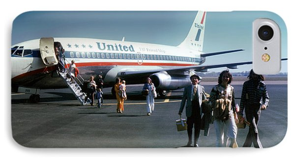 United Airlines Ual Boeing 737-222 N9069u April 1974 IPhone Case by Wernher Krutein