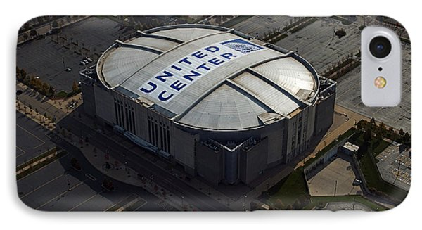 United Center Chicago Sports 09 IPhone Case by Thomas Woolworth