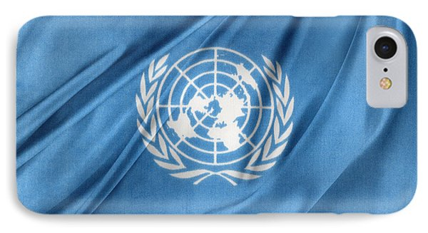 United Nations IPhone Case by Les Cunliffe