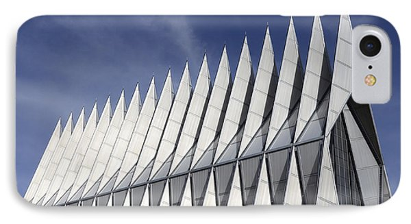 United States Airforce Academy Chapel Colorado Phone Case by Bob Christopher