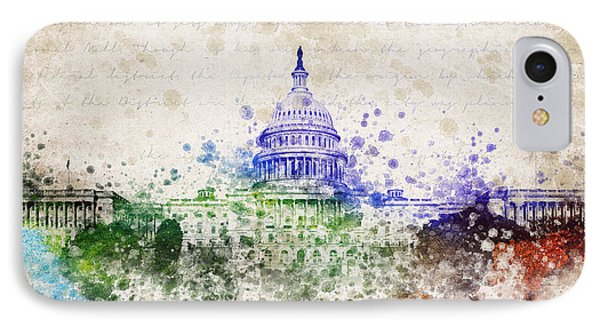 United States Capitol IPhone Case by Aged Pixel